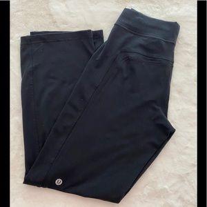 Men's LULULEMON Joggers Sweatpants Black Medium